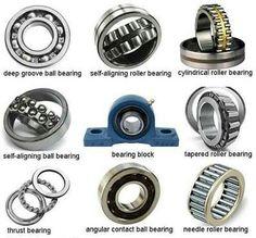 Bearing types