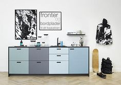 Go Copenhagen Street with this kitchen from &shufl. Cool and modern!