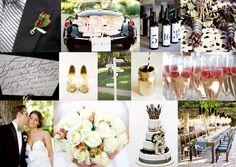 black white grey violet wedding - Google Search