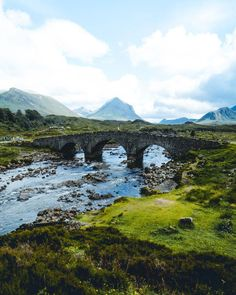 Sligachan old bridge, the first location I stopped for photos whilst visiting the Isle of Skye . Some Beautiful Pictures, Beautiful Places, Scotland Travel, Skye Scotland, Glencoe Scotland, Highlands Scotland, Scottish Highlands, Places To Travel, Places To See