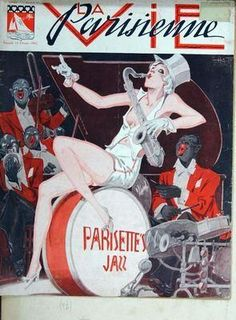 Henry Fournier. Parisettes Jazz. La Vie Parisienne, 13 Février 1932. [Pinned 9-viii-2015]