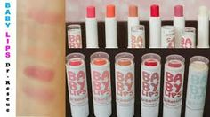 These chapsticks create awesome lip shades and hydrate lips all day