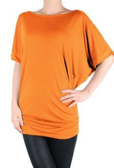 LQ Dolman Sleeve Rayon Yoga Basic Top with Shirring (Orange, Small) LeggingsQueen http://www.amazon.com/dp/B00GNKCQLW/ref=cm_sw_r_pi_dp_opS1tb101XNFFYD2