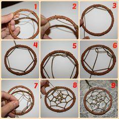 Diy: como reciclar pulseras y hacer un atrapasueños con ellas