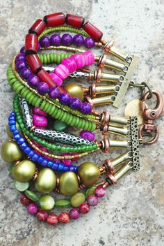 XO Gallery multi-strand bracelet.