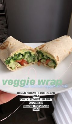 Curated by . - Curated by 🖤 BODY * Food Diet * Veggie Wrap * Lun… - health activities health care health ideas health tips healthy meals Diet Recipes, Vegetarian Recipes, Snack Recipes, Cooking Recipes, Healthy Recipes, Kefir Recipes, Smoothie Recipes, Ketogenic Recipes, Salad Recipes