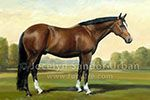 Great artist, perfectly capturing the horse. - Jocelyn Sandor Urban - the best!