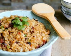 Fried Mochi Rice (Nuo Mi Fan/糯米饭)   Easy Asian Recipes at RasaMalaysia.com - Page 2