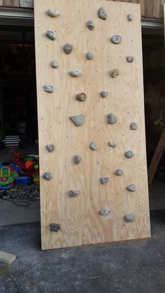 Post with 62 votes and 18950 views. Indoor rock climbing wall with adjustable monkey bars
