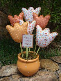 Kids Crafts, Easter Crafts, Crafts To Make, Felt Flowers, Diy Flowers, Fabric Flowers, Fabric Crafts, Sewing Crafts, Shabby Chic Crafts