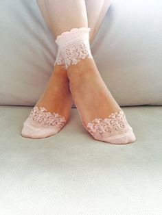 Women's Socks Transparent Socks Nylon Ankle Socks di Muggyshop