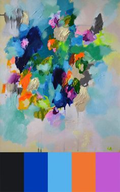 Laelie Berzons Passionate Abstract Paintings in art  Category