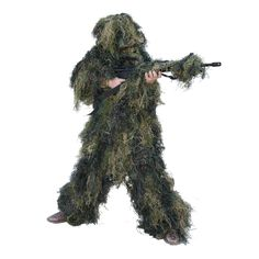 5-Piece Youth Camo Ghillie Suit - Camouflage - Red Rock Outdoor Gear
