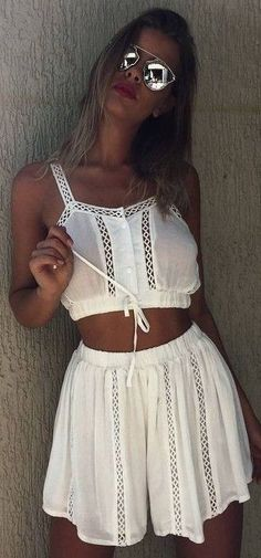 #summer #mishkahboutique #outfits   White Boho Set