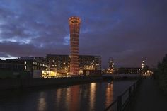Strand East Tower, Stratford, London, UK by Hoare Lea Lighting
