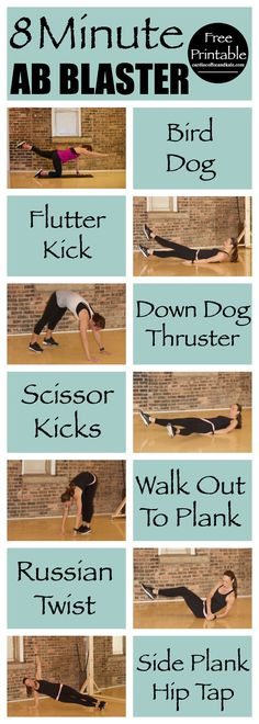 Looking for a quick circuit for your abs? This 8 Minute Ab Blaster Circuit is perfect for sculpting abs and strengthening your total core! www.cardiocoffeeandkale.com