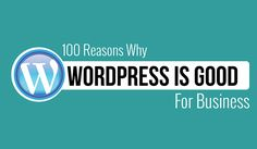 100 Reasons to Use #WordPress for Your Small #Business Website:  https://blog.red-website-design.co.uk/2016/10/18/100-reasons-to-use-wordpress-for-your-small-business-website-infographic/  #WebDesign
