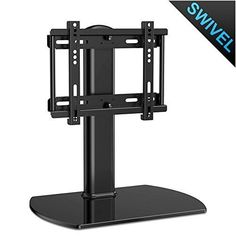 Universal TV Stand Base Tabletop TV Stand with Mount for up to