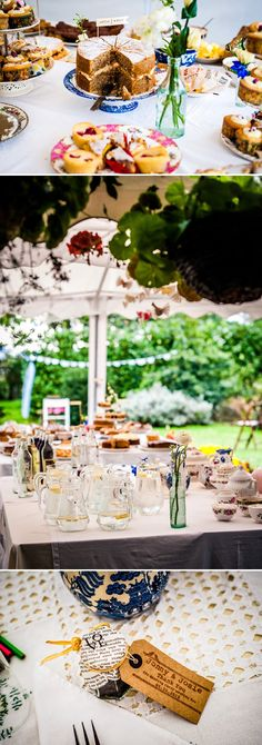 Rustic Backyard Wedding With Bride In Elegant Rapsimo Dress And Groom In Wool Suit And Bowtie With Lots Of Home Made Details And A High Tea Wedding Breakfast 9