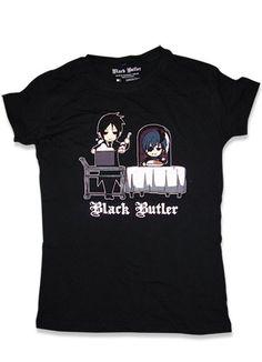 Yes My Lord Black Butler inspired Printed Hoodie