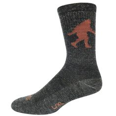 You'll be as warm as Sasquatch when you wear these athletic wool socks by SockGuy!