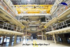 Boeing plans to use Orbiter Processing Facility-1 (OPF-1) to service the X-37B (this is an image of nearby OPF-3). Photo Credit: Jim Siegel ...