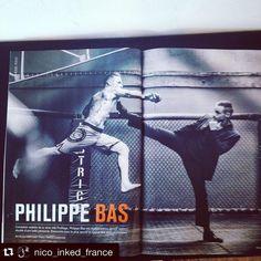 Ça y est, le nouveau mag #inkedmagfrance est arrivé! #Repost @nico_inked_france with @repostapp. ・・・ @philippebas pour Inked Magazine, photo @francklebreton #inkedmagfrance #inked #tattoos #profilage #philippebas #boxe #mma #jjb #montreuil #district #acteur #actor #serie #film