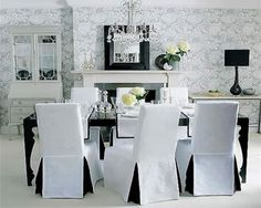 Dining Room Chairs With Loose Covers