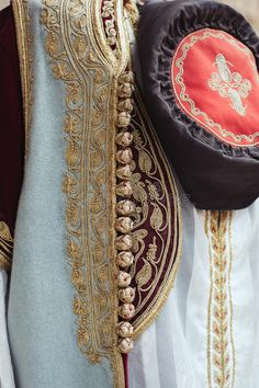 Montenegrin Female Traditional Dress Costume - Montenegro Travel Stock Photo - Image of flax, hemmed: 96563822 Folk Costume, Costume Dress, Modele Hijab, Costumes Around The World, Abaya Designs, Moroccan Caftan, Creative Embroidery, Gold Embroidery, Date Outfits