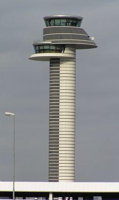 Air Traffic Control Tower, Arlanda, Sweden