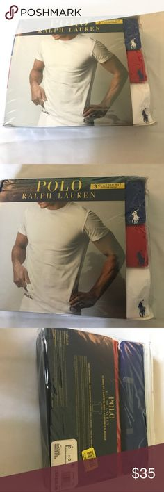 Polo Ralph Lauren 3 Classic Fit Cotton Crew Sz L Polo Ralph Lauren 3 Classic Cotton Crew Size Large 100% Authentic Polo Undershirts, i buy all polos my self made of Ringspun Combed Cotton in Classic Fit Color : Red, Blue and White.      Location HG Bag Polo by Ralph Lauren Underwear & Socks Undershirts