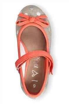 Buy Linen Spot Pumps (Younger Girls) from the Next UK online shop