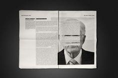 Jornal de Letras by André Silva, via Behance