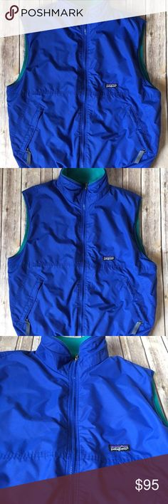 Patagonia Men's Fleece Lined Vest Brand: Patagonia Size: Large Approximate Measurements (laid flat): Chest (armpit to armpit): 46in Length (shoulder to hem):27in Pre-owned in excellent condition. No rips, stains or tears. Patagonia Jackets & Coats Vests