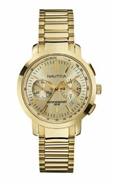 Nautica Men's N22563M Nct 800 Midsize Watch NAUTICA. $127.99. Durable mineral crystal protects watch from scratches. Quartz movement. 36mm. Water resistant to 330 feet. Stainless steel case