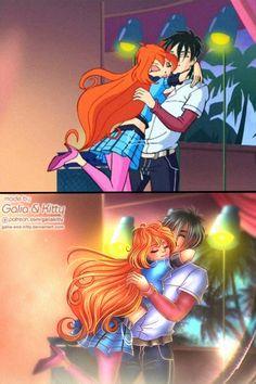 DeviantArt: More Like WinX Club: Hello, Endy! by KrokodiLena Fairy Oak, Las Winx, Bloom Winx Club, Avatar The Last Airbender Art, Manga Couple, Magical Girl, The Magicians, Flora, Anime