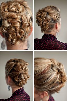 Super fast and easy updo!!! Someone in my family did this and I absolutely LOVE it!!!!:)