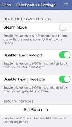 Facebook    aduce pentru Facebook chat in aplicatie, protejare cu cod de siguranta si multe altele