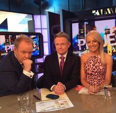 Pete, Hugh and Carrie #theprojecttv