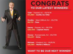 Way to go, Danny!! He won $36,400 on Captain Nemo!