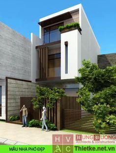mẫu mặt tiền nhà phố thiết kế đẹp