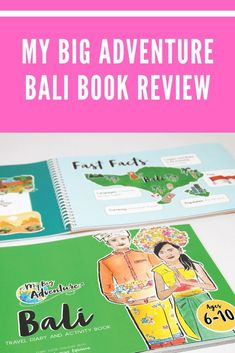 We share our thoughts on the My Big Adventure Bali Travel Diary and Activity Book. Bali With Kids, Travel With Kids, Bali Family Holidays, Bali Travel, Packing Tips, Our Kids, Book Activities, Book Review, Thoughts
