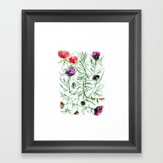 This illustration was created for the love of strong, sharp petals, immortal flowers. Thistles in vivid colors catch the eye with their all over entanglement. Thistles, Vivid Colors, Strong, Posters, Eye, Create, Illustration, Artwork, Flowers