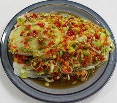 Authentic Korean Food, Korean Side Dishes, Asian Recipes, Ethnic Recipes, Veggie Dishes, Light Recipes, Food Menu, Food Design, No Cook Meals