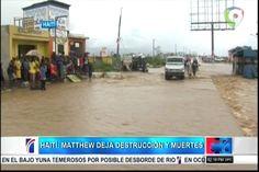 El paso de Matthew por Haití dejó destrucción y muertes