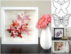 DIY Beautiful Butterfly Table Decoration