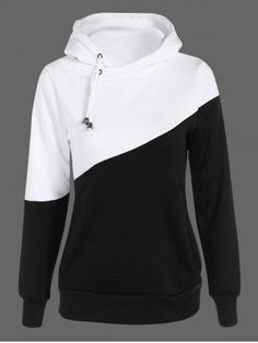 GET $50 NOW | Join RoseGal: Get YOUR $50 NOW!http://m.rosegal.com/plus-size-hoodies/two-tone-plus-size-jumper-835766.html?seid=7654727rg835766