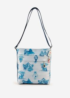 Beauty and the Beast Streamline Crossbody Antique Toile