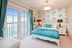 blue #cyan #bedroom