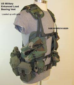 Enhanced Load Bearing Vest - loaded up!